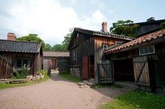 Старая деревянная дом Стоковое Изображение