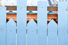 Старая деревянная загородка Стоковая Фотография RF