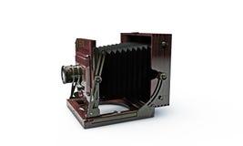Старая деревянная камера фото рамки Стоковое Фото