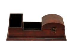 Старая деревянная коробка стоковые изображения