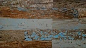 Старая деревянная красочная предпосылка текстуры планки стоковые фотографии rf