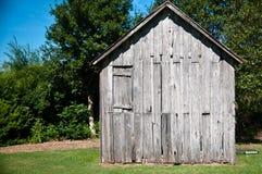 Старая деревянная лачуга Стоковая Фотография RF