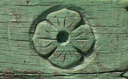 Старая деревянная предпосылка с картиной стоковая фотография