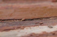 Старая деревянная предпосылка с остатками частей утилей старого PA стоковые фотографии rf