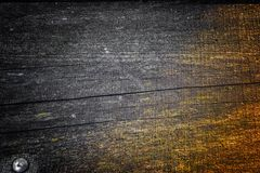 Старая деревянная текстура с естественными картинами и отказами на поверхности как предпосылка Затмите от центра Стоковое фото RF