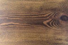 Старая деревянная темная текстура предпосылки Стоковая Фотография