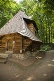 Старая деревянная церковь Стоковая Фотография RF