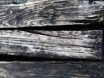 Старая деревянная черная грязная предпосылка спада стоковое фото