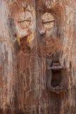Старая деталь двери Стоковые Фото