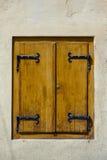 Старая деталь окна Стоковые Фото