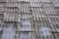Старая домашняя крышка, серый шифер, красивая текстура и предпосылка стоковое фото rf
