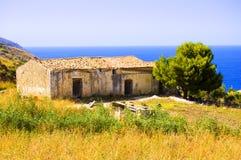 старая дома итальянская Стоковая Фотография RF
