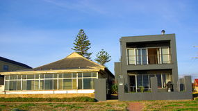 старая дома новая Стоковое Фото