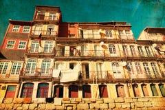 Старая дом в Porto, Португалии стоковая фотография