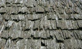 старая древесина крыши Стоковое Фото