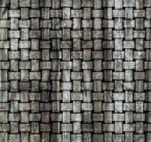 старая древесина weave стены Стоковое фото RF