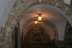 Старая еврейская школа, Иерусалим, Израиль стоковое изображение