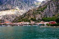 Старая Европа, город Kotor Стоковое Изображение RF