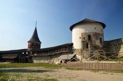 Старая европейская крепость Стоковое Изображение RF