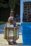 Старая деревенская лампа Стоковое Изображение