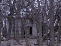 Старая деревенская усадьба Стоковые Фото
