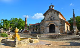 Старая деревня Альт de Chavon Стоковые Изображения RF