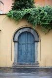 Старая деревянная дверь Стоковое фото RF