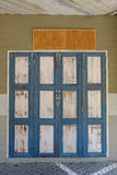 Старая деревянная дверь Стоковые Фотографии RF