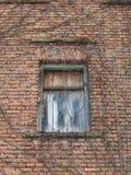 Старая деревянная дверь Стоковые Фото