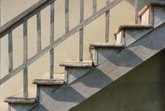 Старая деревянная лестница Стоковое фото RF