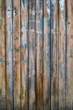 Старая деревянная загородка. Стоковая Фотография RF