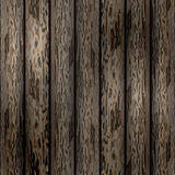 Старая деревянная иллюстрация вектора предпосылки Стоковые Изображения