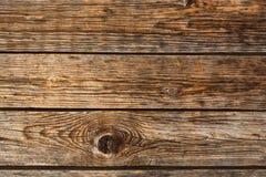 Старая деревянная коричневая текстура Стоковое Изображение