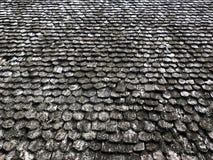 Старая деревянная крыша Стоковая Фотография
