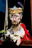 Старая деревянная кукла Стоковое Изображение