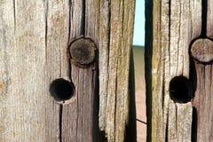 Старая деревянная куча Стоковая Фотография RF