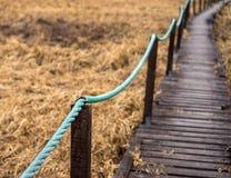 Старая деревянная дорожка Стоковое Фото