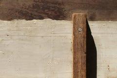 Старая деревянная панель для предпосылки Стоковые Изображения