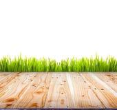 Старая деревянная поверхность пола предпосылки текстуры Стоковые Изображения