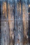 Старая деревянная покрашенная панель, предпосылка Стоковое фото RF