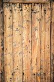 Старая деревянная предпосылка двери Стоковые Изображения RF