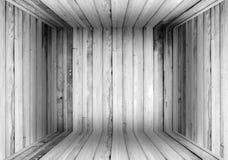 Старая деревянная предпосылка коробки Стоковое Изображение RF