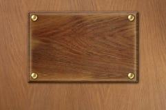 Старая деревянная плита над деревянной предпосылкой текстуры Стоковые Изображения RF