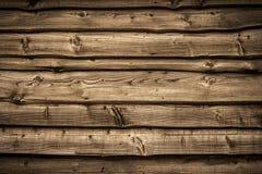Старая деревянная стена амбара Стоковая Фотография RF