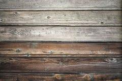 Старая деревянная стена, винтажная текстура предпосылки Стоковое Фото