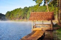 Старая деревянная хата Стоковое Изображение