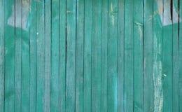 Старая деревянная холодная зеленая текстура Стоковые Фотографии RF