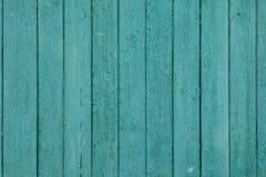 Старая деревянная холодная зеленая текстура Стоковые Изображения RF