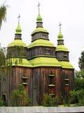 Старая деревянная церковь Стоковые Изображения