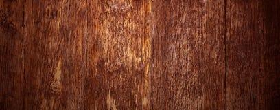 Старая естественная коричневая деревянная текстура Стоковые Фотографии RF